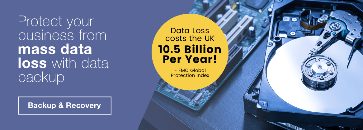 Protect your business from mass data loss with data backup